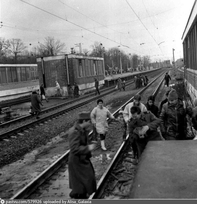 Фото поезд из района химки — img 3