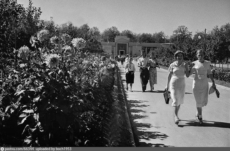 ВСХВ. В Мичуринском саду (1939)