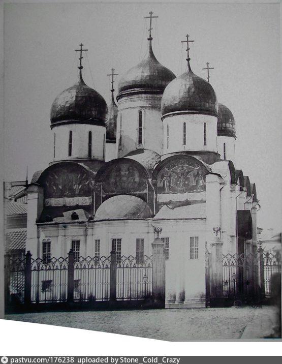 Успенский собор в 1870-ые.