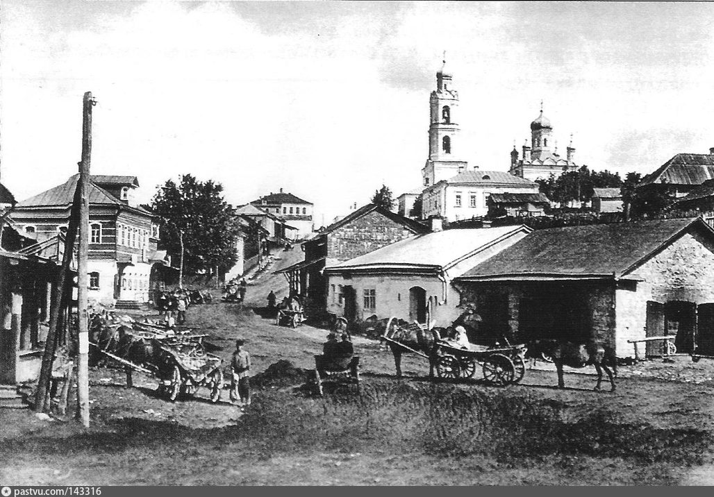 Вид города Рузы