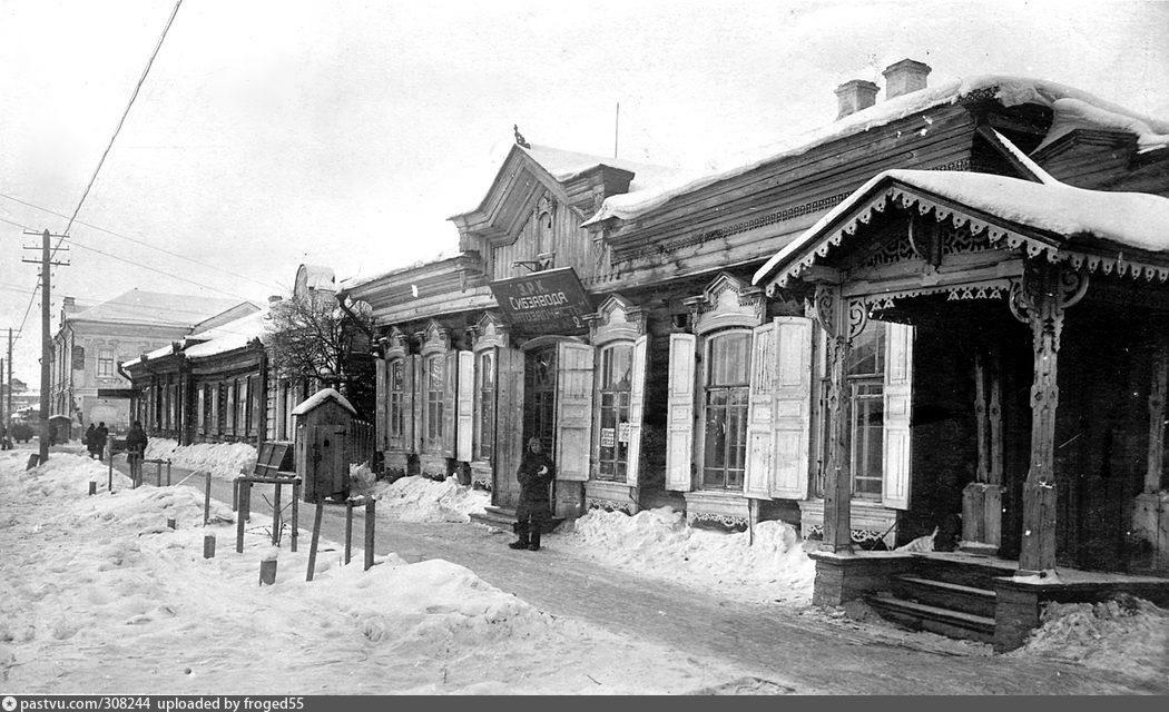 Сибзавод. Магазин ЗАПЧАСТЬ. 1930-е гг