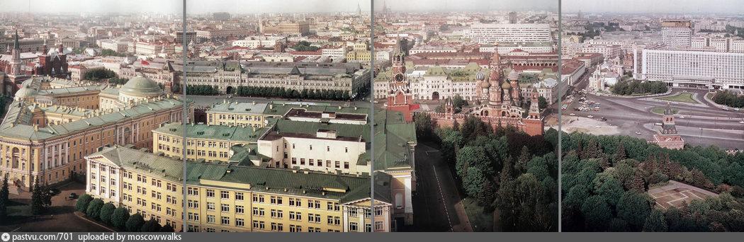 Панорама с колокольни ивана великого
