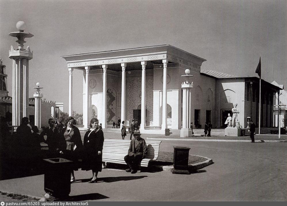 Павильон Туркменская ССР. ВСХВ (1939)