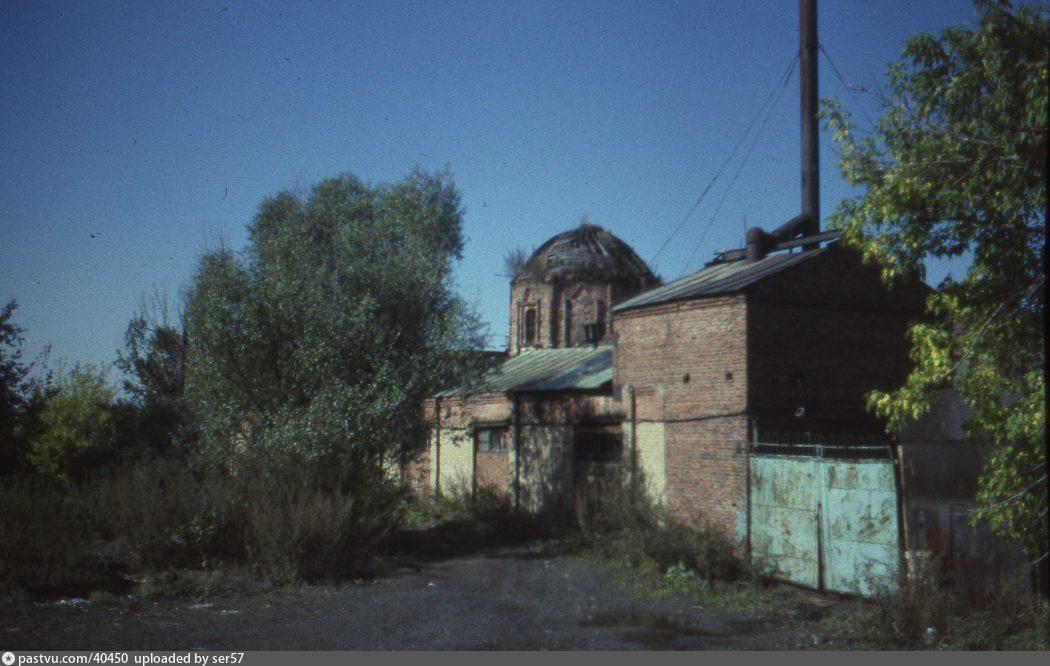 Церковь Покрова Пресвятой Богородицы в Покровском