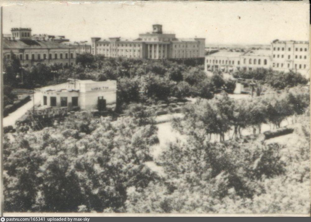 Омск. Вид на площадь Ленина