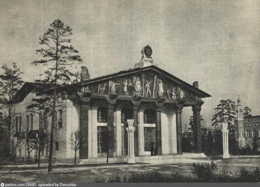 ВСХВ.  Павильон Карело-Финской ССР.