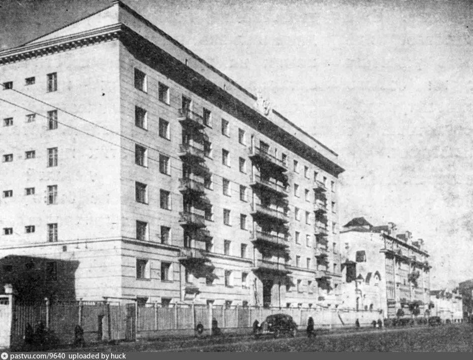 самые первые фотографии проспекта мира москва часто