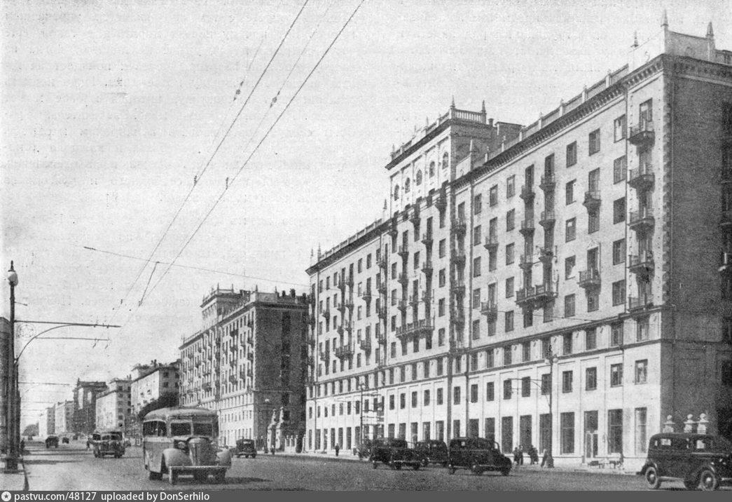 Большая Калужская улица, 1939-1940