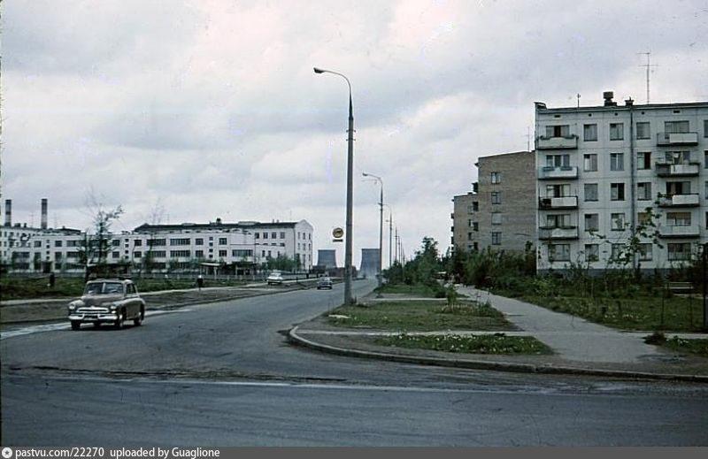 Старые карты Москвы - Ул. Бирюсинка