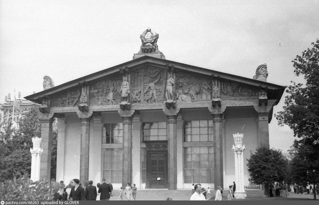 ВСХВ. Павильон Карело-Финской ССР (1955)