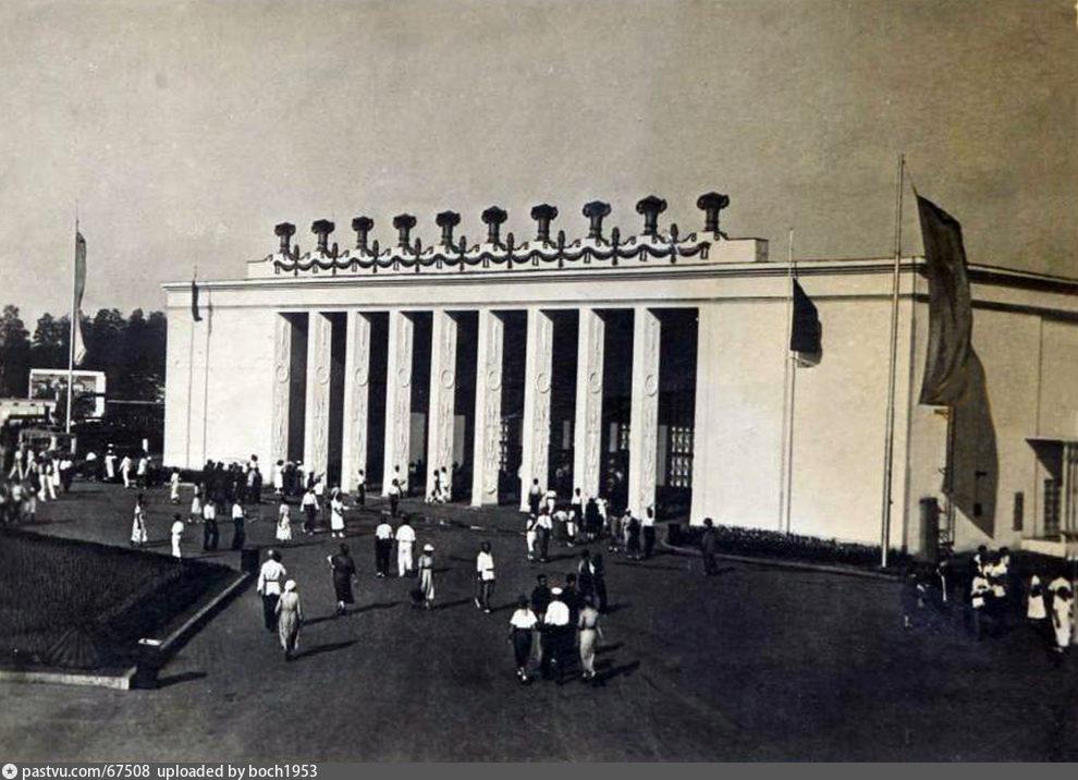 ВСХВ. Павильон Зерно (1939)