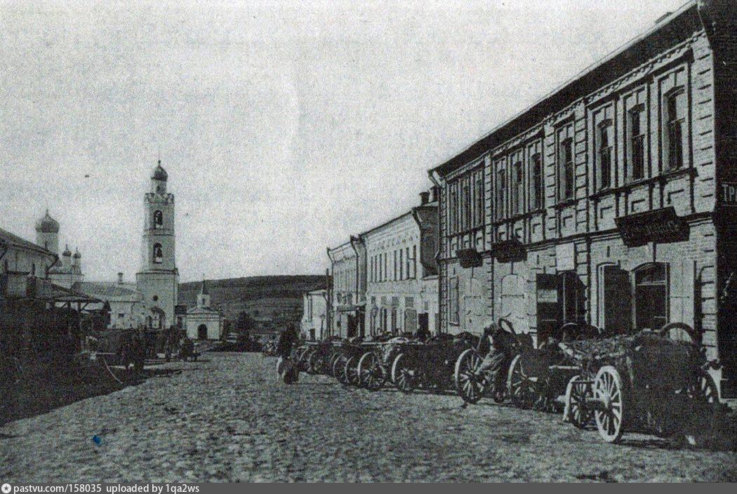 Московская губерния,г.Руза,Воскресенский собор