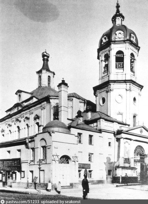 Покровка. Церковь Воскресения в Барашах