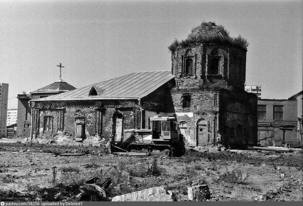Храм Пресвятой Богородицы на Городне в Чертаново