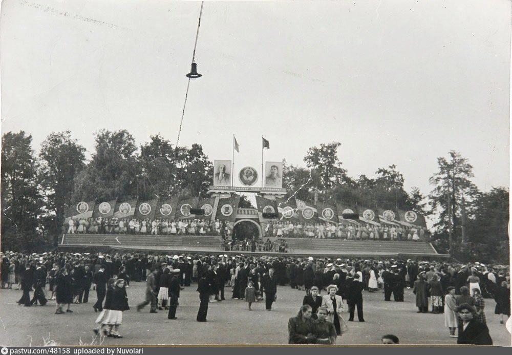 История ЦПКиО (парка Горького ) в Москве