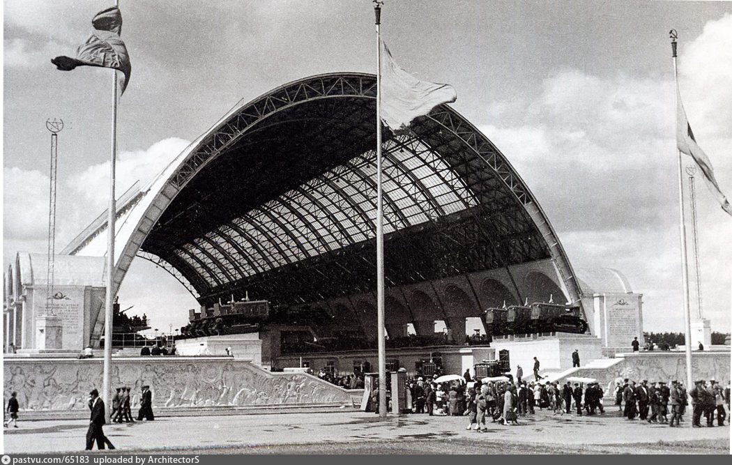Павильон Механизация, 1939