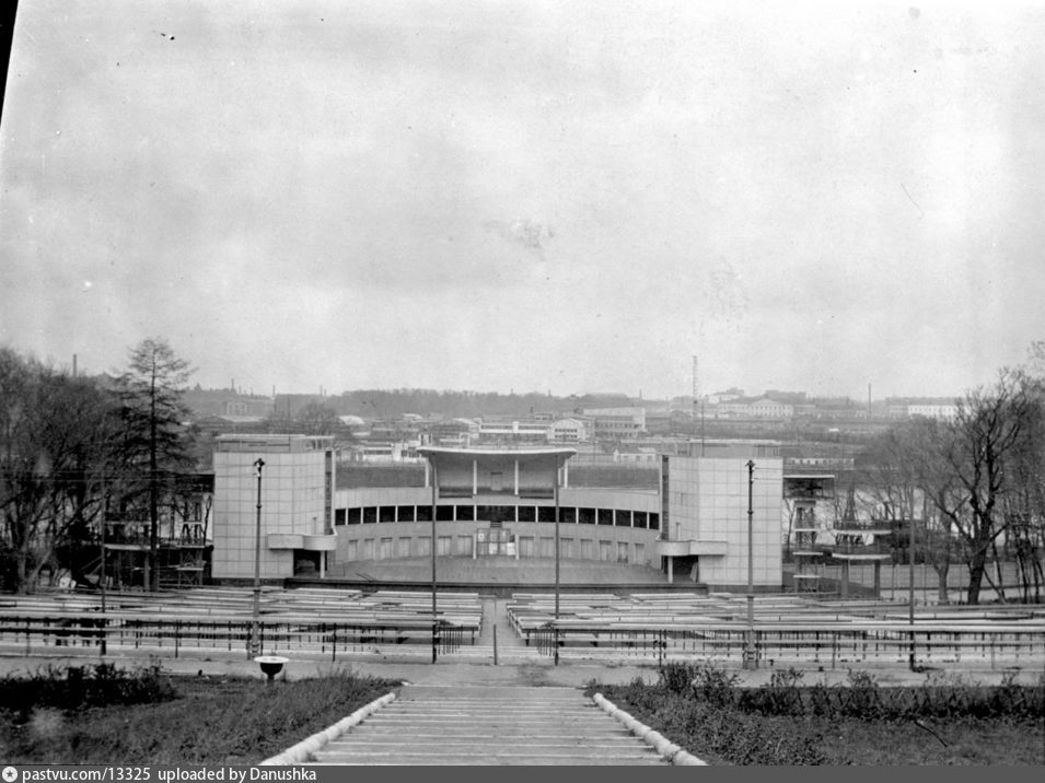 Зеленый театр в ЦПКиО, 1939