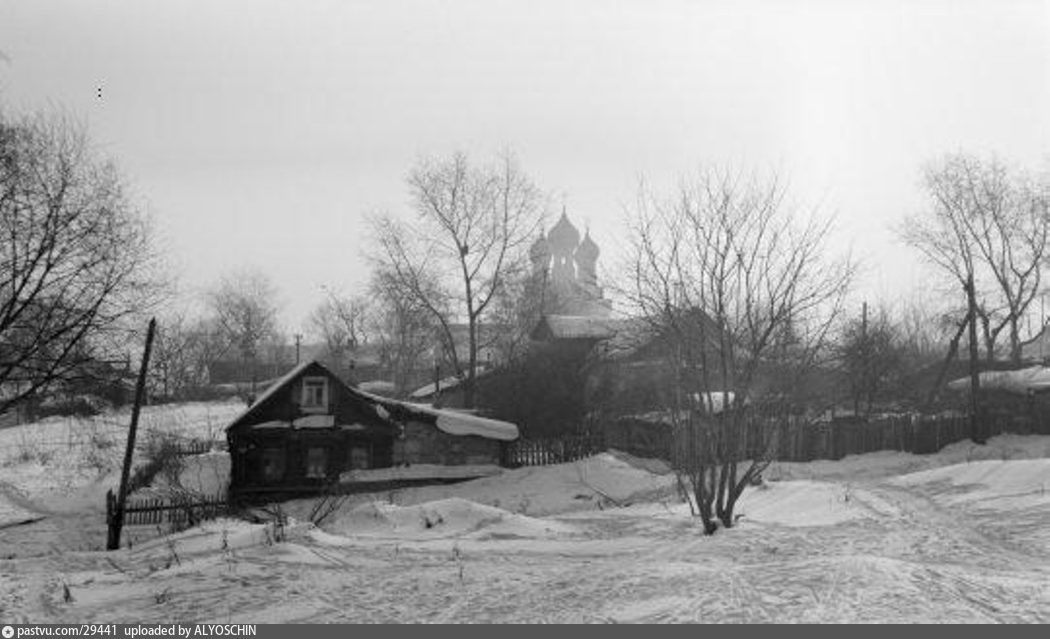 Село алексеевское и храм тихвинской