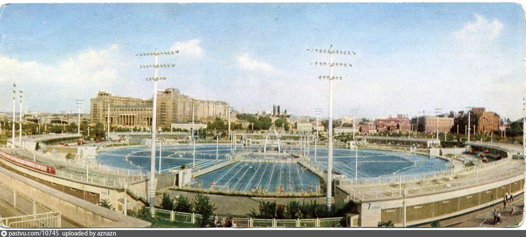 фото бассейн москва
