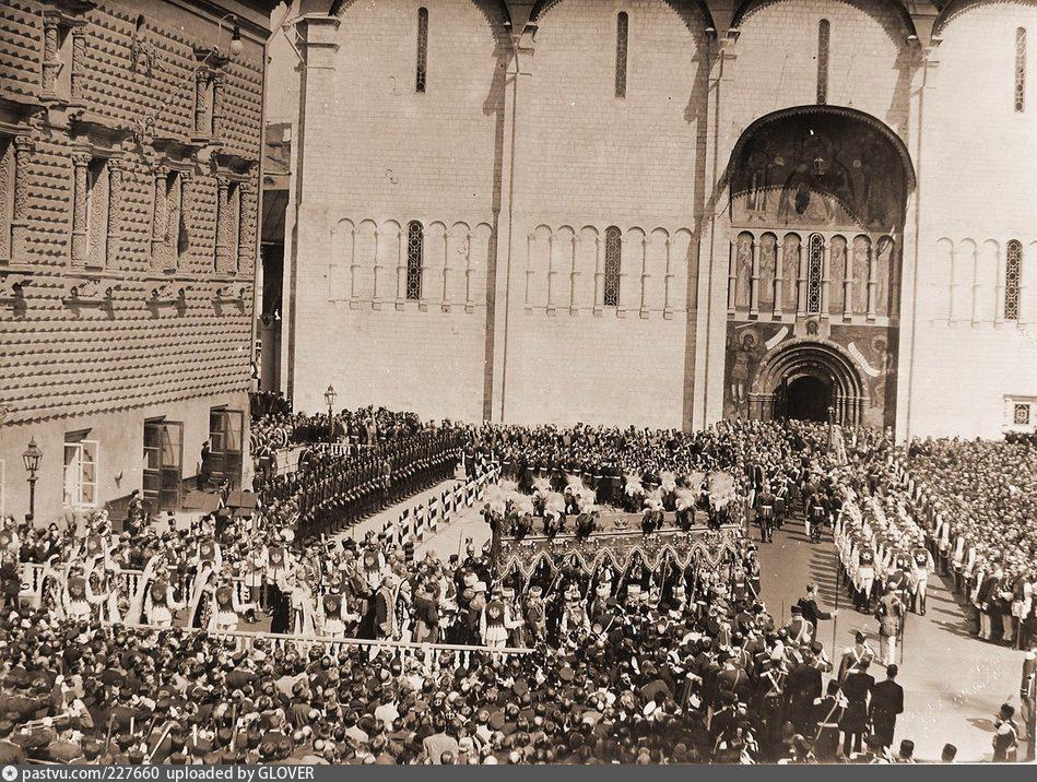 Коронация Николая II в 1896.
