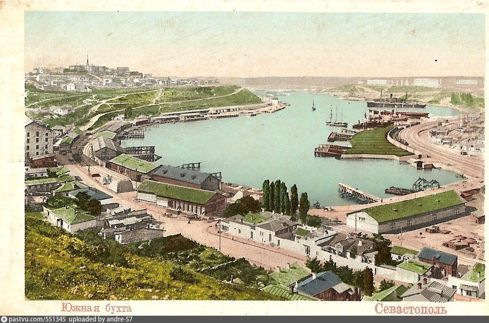 Про, севастополь на старых открытках