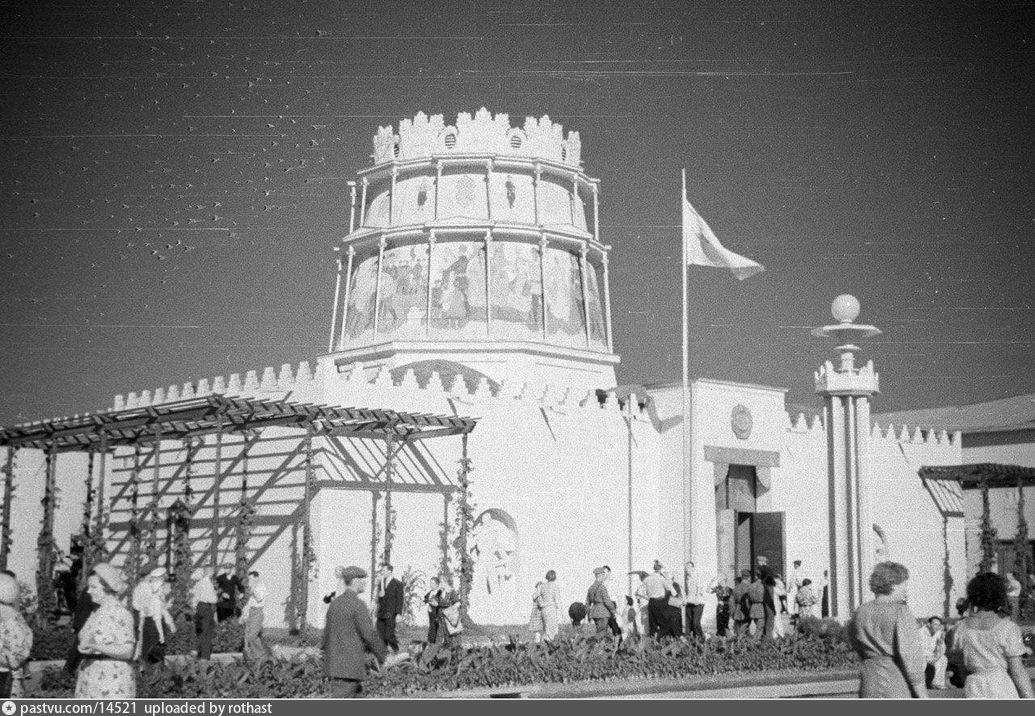 ВСХВ. Павильон Башкирской АССР (1939)