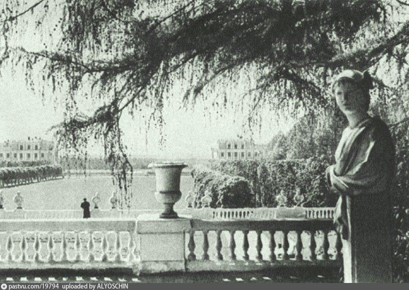 Парк в Архангельском, 1940