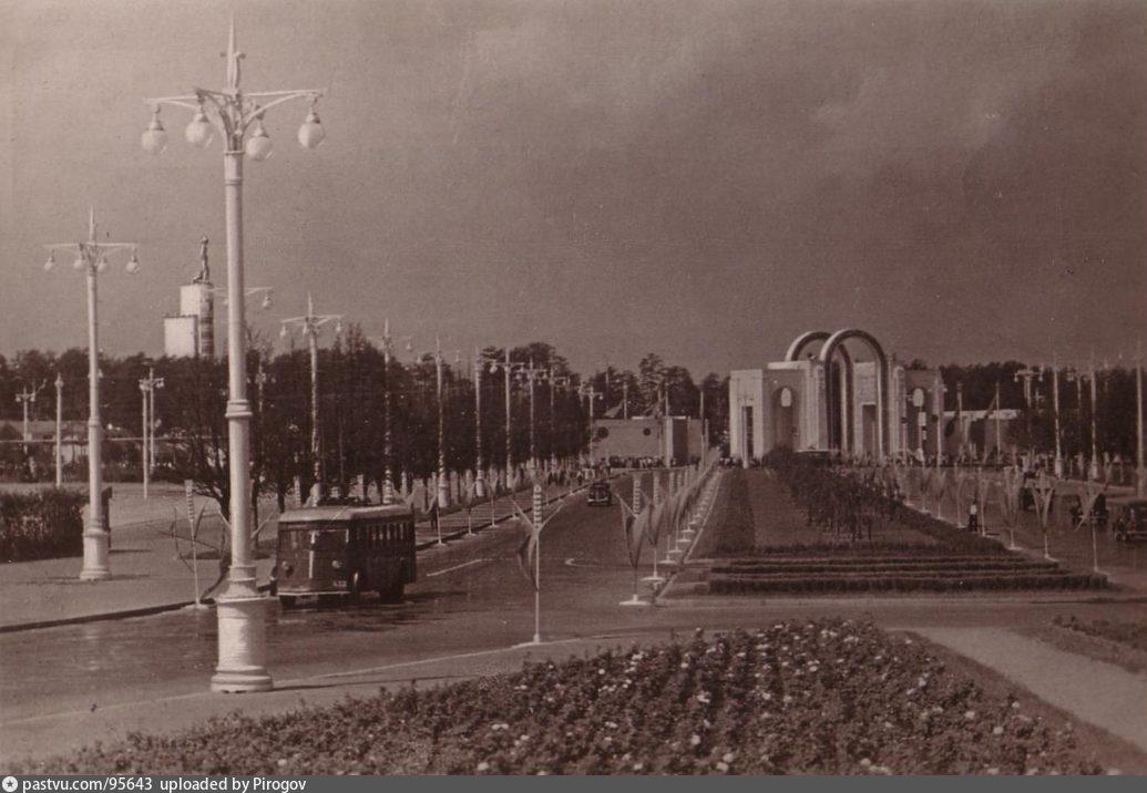 ВСХВ. Подъезды к выставке (1939)