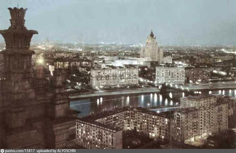 Вечерняя Москва | История Москвы в картинках