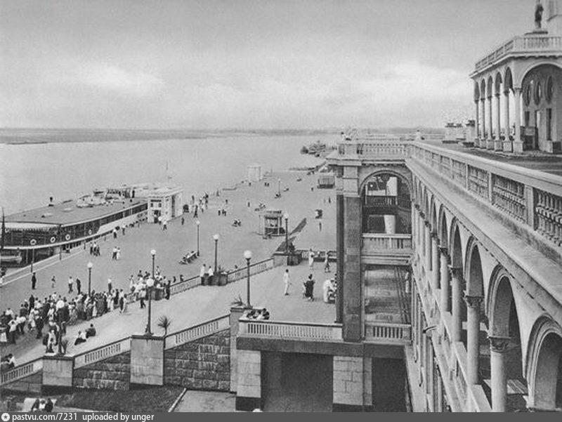 Речной вокзал в Химках, 1939