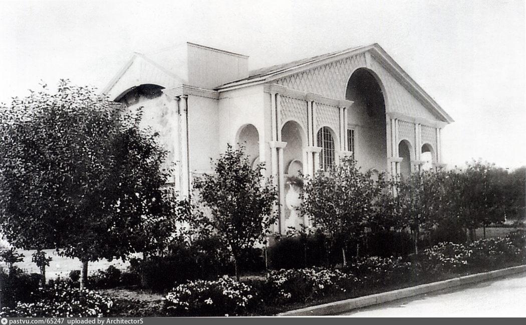 Создание выставки. Павильон Садоводство (1938)