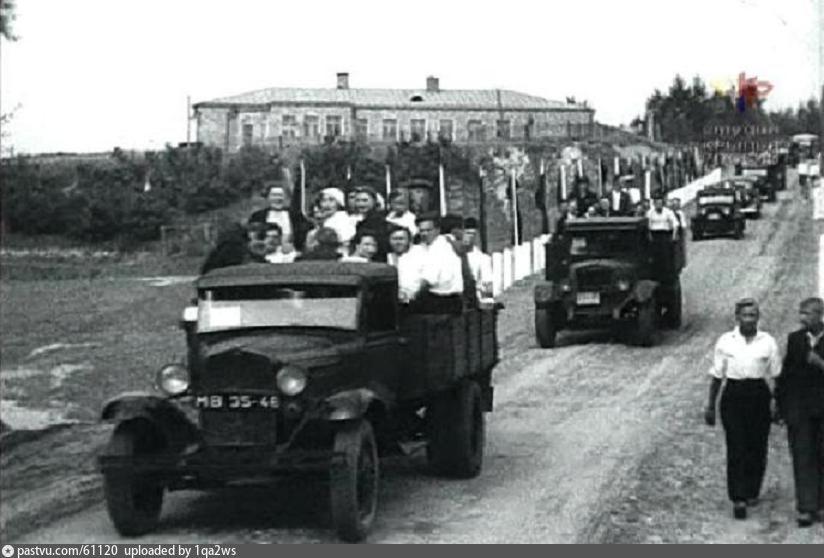 На авиапарад, 18 августа 1937 года