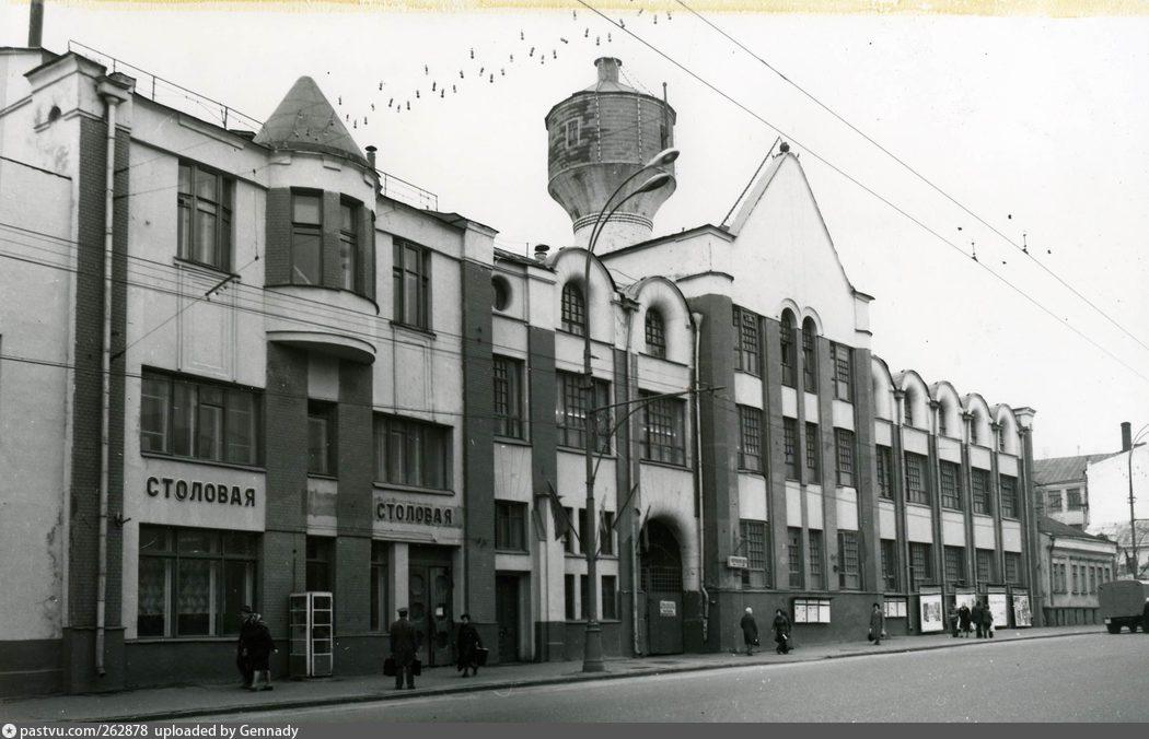 Водонапорная башня на Воронцовской улице