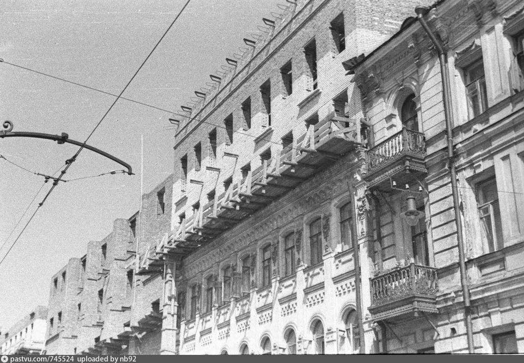 Чистопрудный бульвар, 1939