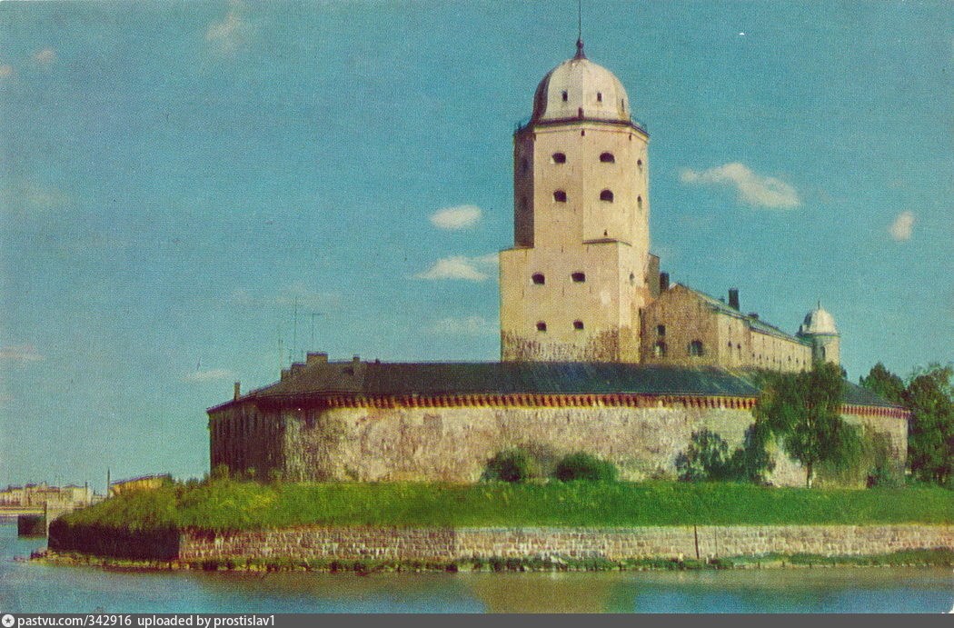 выборгский замок почтовая открытка девок предельно сексуальный