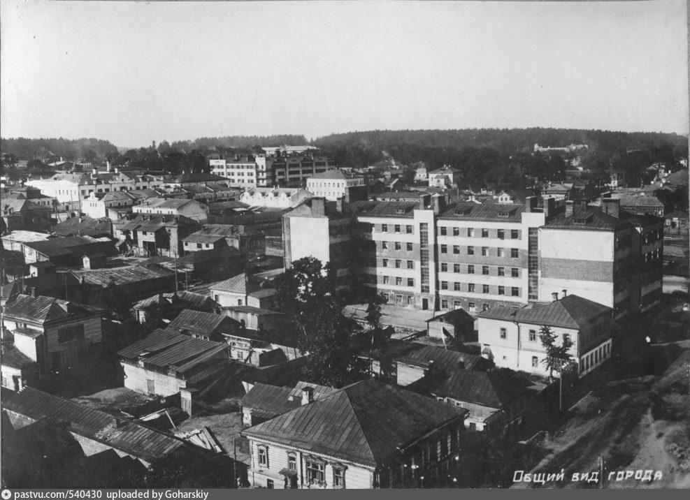 какой раньше был город богородск фото очень большой любитель