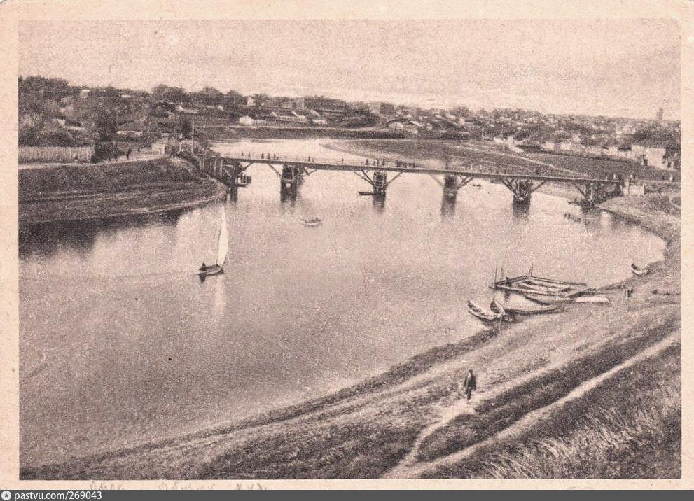 Николаевский, или Деревянный, мост